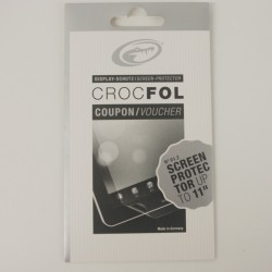 CrocFol Coupon/Voucher for a Made to Measure Screen Protector upto 11in
