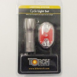 Torch 4122 Front and Rear L.E.D Light Set Red White LED Lights To Clear