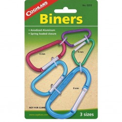 Cochlans Biner Multi-coloured Alloy carabiners