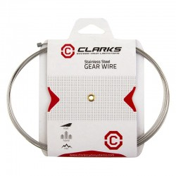 Clarks MTB/Hybrid Road Stainless Steel Gear Shifter Cable Wire