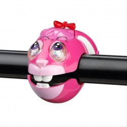 Crazy Stuff Childrens Bicycle Animal LED Light Pink Bunny Rabbit