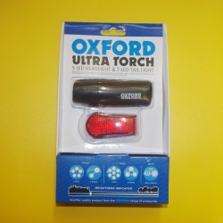 Oxford Ultra Torch Front and Rear LED Light Set not Smart CatEye Lezyne
