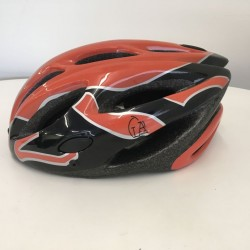 LA Sports Pro + Orange / Black Childs/Kids Helmet