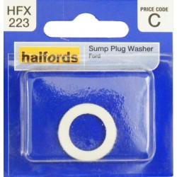 Halfords Sump Plug Washer White Ford HFX223