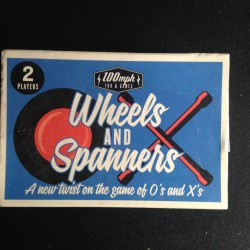 STOCKING FILLER - Wheels + Spinners Game - 100mph Fun and Games