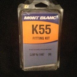 Halfords Mont Blanc K55 Roof Bar Fitting Kit
